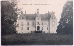 71 CPA THIL SUR ARROUX CHATEAU 1907 ENVIRON D'AUTUN - Andere Gemeenten
