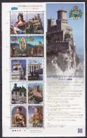 JAPAN 2010. Mi 5208/17, Kleinbogen, SAN MARINO, MNH(**) - 1989-... Empereur Akihito (Ere Heisei)