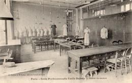 PARIS 14 RUE EMILE DUBOIS ECOLE PROFESSIONNELLE EMILE DUBOIS ATELIER DE COUTURE - District 14