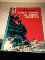 Benoit Brisefer Les 12 Travaux De Benoit Brisefer  Réed Dos Rond 1972 - Benoît Brisefer