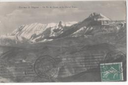 CP DIGNE LE PIC DE COUAR ET LE CHEVAL BLANC  (04 ALPES DE HAUTE PROVENCE) OBLIT MARSEILLE  30 DEC 1912 - Digne