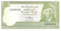 Pakistan - Pick 39 - 10 Rupees 1983 - Unc - Pakistan