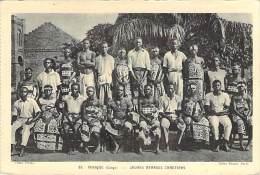 AFRIQUE NOIRE - Ex CONGO Français :  Jeunes Ménages Chrétiens - CPA - Black Africa ( Religion Catholique ) - Französisch-Kongo - Sonstige