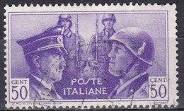 Regno D'Italia, 1941 - 50c Fratellanza Italo-Tedesca - Nr.455 Usato° - Usati
