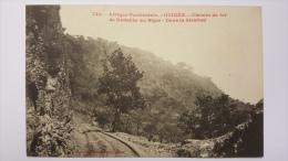 GUINEE Dans La SIRAFORE Chemin De FER De KONAKRY Au NIGER Afrique CPA Animee Postcard - Guinée