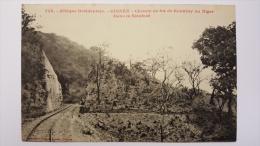 GUINEE Dans La SIRAFORE 745 Chemin De FER De KONAKRY Au NIGER Afrique CPA Animee Postcard - Guinée