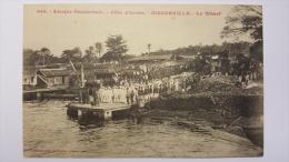 COTE D'IVOIRE - BINGERVILLE Le WHARF 949 COLONS COLON Afrique CPA Animee Postcard - Ivory Coast