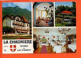 """74 VEYRIER Du LAC : Hôtel """"La Chaumière"""" ( Non écrite, Non Oblitérée) - Veyrier"""
