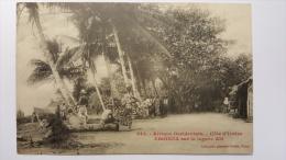 COTE D'IVOIRE - EBOINDA Sur La Lagune ABI Afrique 945 CPA Animee Postcard - Ivory Coast