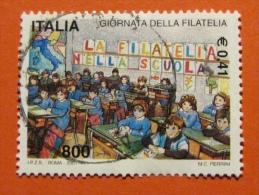 ITALIA USATI 2001 - GIORNATA DELLA FILATELIA 2001 - SASSONE 2565 - RIF. G 1935 LUSSO - 6. 1946-.. Repubblica
