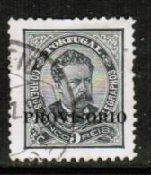 PORTUGAL  Scott  # 79 VF USED - 1892-1898 : D.Carlos I