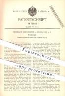 Original Patent - Herrmann Reifenstein In Frankfurt Am Main , 1893 , Drachenvogel , Drachen , Vogel , Sport , Hobby !!! - Documents Historiques
