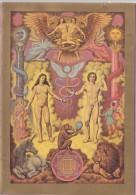 Religion °° Adam Et Eve - La Création Du Monde Encart écrit 15x21 Format Et Port Spécial. Me  Consulter - Quadri, Vetrate E Statue
