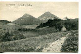 Le Puy Griou Dominant La Vallée De La Cère - Auvergne