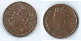 Grande-Bretagne, Indes Anglaises - One Quarter 1862 - Colonies