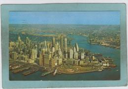 AERIAL  VIEW  OF  LOWER  MANHATTAN  -  NEW  YORK  CITY  -  1968  - - Manhattan