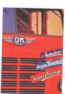 P3586 Cartolina Pubblicitaria CAMION IVECO Per Il Libro TRUCK STORY - PUBBLICITARIE - Autocarro, TIR  - NN VIAGGIATA - Camion, Tir