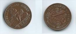 2 CENTIMES 1912 ALBERT I KONING DER BELGEN - 02. 2 Centimes