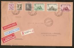 Nrs. 478 , 481 , 482 En 483  AANGETEKEND Verstuurd  Van BRUXELLES Dd. 15/11/1938 Naar KOLN ( DUITSLAND ) ! ZIE LOT 220 - Belgique
