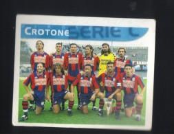 Figurina Calciatori Italiani Merlin 1999 -  Crotone  - N.598  La Squadra  - Football - Soccer - Socker - Fussball - Futb - Vignettes Autocollantes