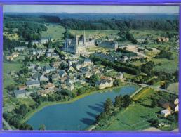 Carte Postale 61. La Chapelle-Montligeon  Vue D´avion Trés Beau Plan - Frankreich