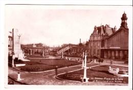 Cpsm   Arras  Place De La Gare - Arras