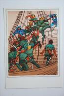 """ROBIN HOOD"" - OLD USSR Postcard -1975 - ARCHERY - Archer - Rare! - Tir à L'Arc"