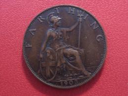 Grande-Bretagne - UK - Farthing 1903 Edward VII 5172 - 1902-1971: Postviktorianische Münzen