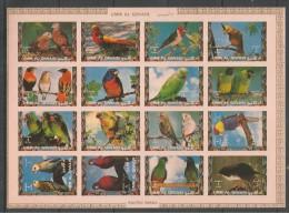 UMM AL QIWAIN - MNH - Animals - Birds - Parrots - Exotic Birds - Imperf. - Parrots