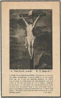 192.RIDDER NORBERT De SCHAETZEN  Van BRIENEN -  KORPORAAL Anti-Tanks Eenheid 2e BATALJON - TERHOVE 1921/DUITSLAND 1945 E - Imágenes Religiosas