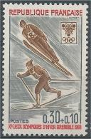 France, Cross-country-skiing And Ski Jumping, 1968, MNH VF - France