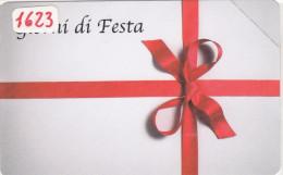SCHEDA TELEFONICA CATALOGO  GOLDEN N°. 1623 - COME FOTO - N U O V A - Italia