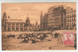 Oostende, Ostende, La Plage Et Le Kursaal (pk28096) - Oostende
