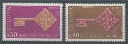 France, EUROPA 1968, Key, 1968, MNH VF - Frankrijk