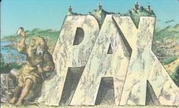 SAN MARINO - Pax(QA), Tirage 4000, Mint - San Marino