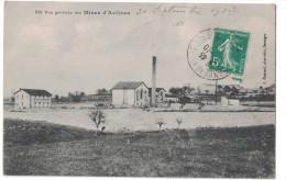 Gard 30 - Vue Générale Des Mines D'AVEJEAN Usines Cheminée Industrie CP Circulée Ed. Gascuel Besseges - France