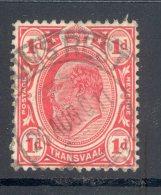 TRANSVAAL Used In TRANSVAAL (interprovincial Postmark), PILGRIM´S REST 26 Aug 1911, SG Z142 - Zuid-Afrika (...-1961)