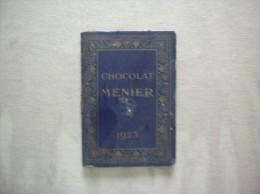 CHOCOLAT MEUNIER PETIT AGENDA CALENDRIER 1923 - Kalenders
