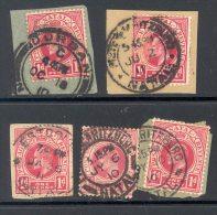 NATAL Used In NATAL (interprovincial Postmarks), 5 Stamps - Zuid-Afrika (...-1961)