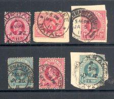 NATAL Used In NATAL (interprovincial Postmarks), 6 Stamps - Zuid-Afrika (...-1961)