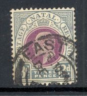 NATAL Used In CAPE (interprovincial Postmark), EAST LONDON, SG Z59 - Zuid-Afrika (...-1961)