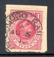 NATAL Used In NATAL (interprovincial Postmark), INGOGO RAIL 5 Aug 1910, SG Z38 - Zuid-Afrika (...-1961)