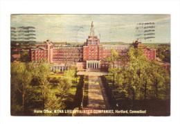 Etats Unis: Connecticut, Hartford, Home Office, Aetna Life Affiliated Companies (15-3895) - Hartford