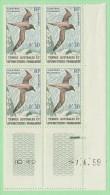 FSA SC #12-14 MNH B4 1959 Sooty Albatross, Skua, King Shag, CV $58.00+ - French Southern And Antarctic Territories (TAAF)