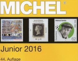 Junior MlCHEL Deutschland Briefmarken Katalog 2016 Neu 10€ D DR 3.Reich Danzig Saar Berlin SBZ DDR BRD 978-3-95402-136-9 - Phonecards