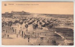 Oostende, Ostende, Vue Panoramique De La Plage à L'heure Des Bains (pk28138) - Oostende