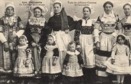 29 - CHATEAULIN  - Un Concours De Costumes  Etude Des Différents Costumes De Cornouailles - Châteaulin