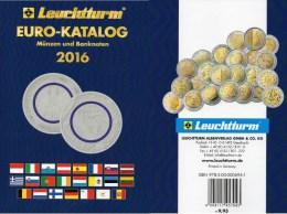 Deutschland EURO Katalog 2016 Für Münzen Numisblätter Numisbriefe Neu 10€ Mit €-Banknoten Coin Numis-catalogue Of EUROPA - Material Und Zubehör