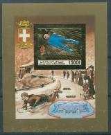Komoren 1990 Olympiade Albertville Block 340 B Postfrisch (C22151) - Komoren (1975-...)
