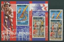 Dschibuti 1983 Olympiade Los Angeles 361/2 Block 75 A Postfrisch (G22060) - Dschibuti (1977-...)